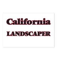 California Landscaper Postcards (Package of 8)