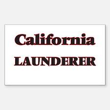 California Launderer Decal