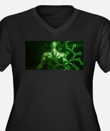 Chemical Science a Plus Size T-Shirt