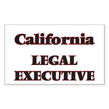California Legal Executive Decal