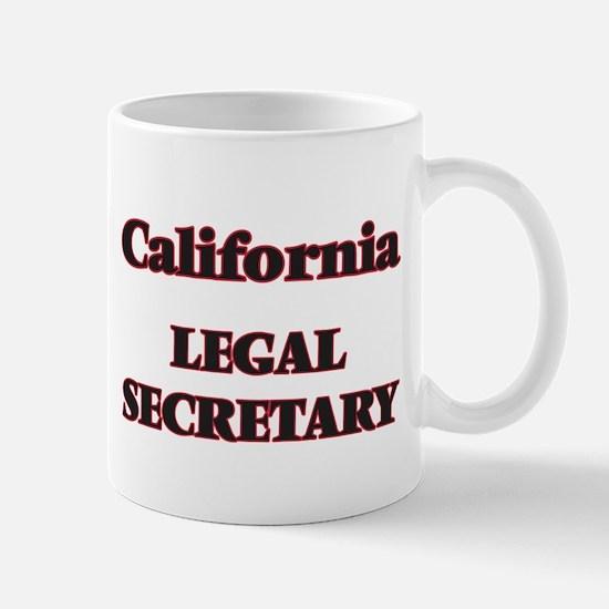 California Legal Secretary Mugs