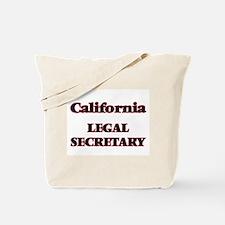 California Legal Secretary Tote Bag