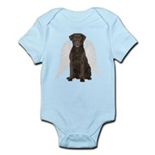 Chocolate Lab Angel Body Suit