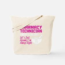 Cute Pharmacy technician Tote Bag