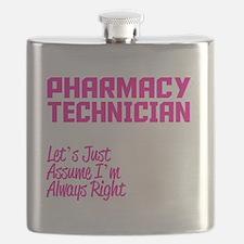 Cute Pharmacy technician Flask