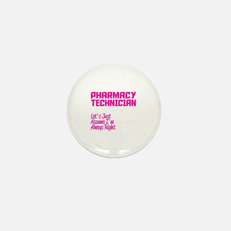 Cute Pharmacy technician Mini Button