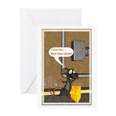 Rattachewie 1 - Greeting Card 1 - 5x7 Single Card