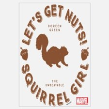 Squirrel Girl Let's Get Nuts Wall Art