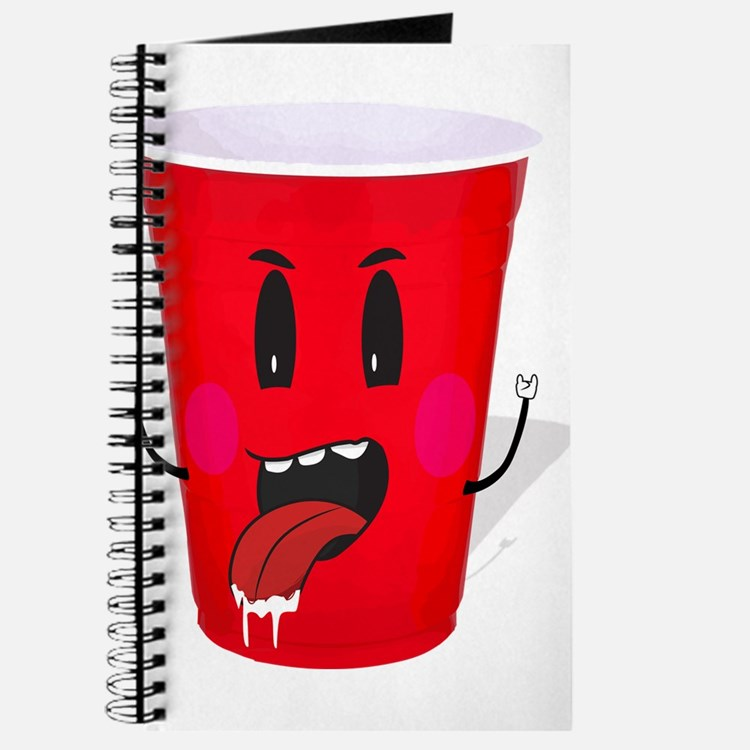 Cups playing beer pong Journal