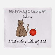 crochetcat.png Throw Blanket