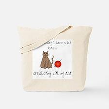 crochetcat.png Tote Bag