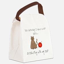 crochetcat.png Canvas Lunch Bag