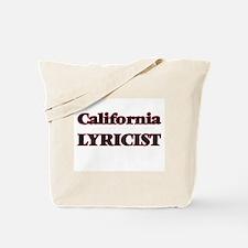 California Lyricist Tote Bag