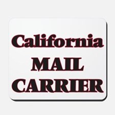 California Mail Carrier Mousepad