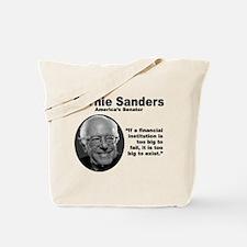 Sanders: TooBig Tote Bag