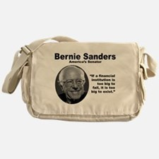 Sanders: TooBig Messenger Bag
