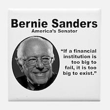 Sanders: TooBig Tile Coaster