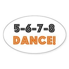 Cute Line dance Decal