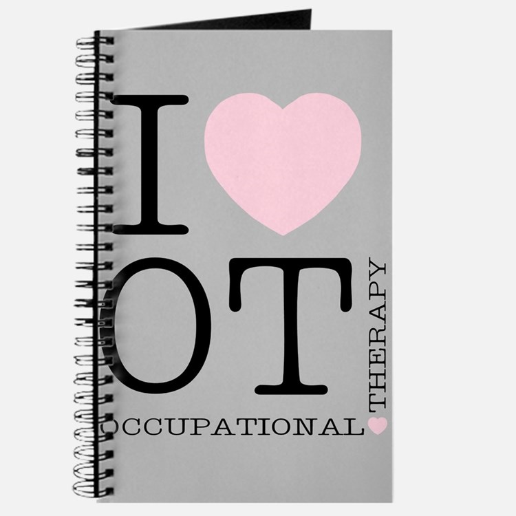 OT I Love OT Occupational Therapy Journal