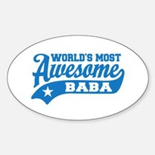 World's Most Awesome Baba Decal