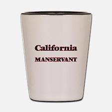 California Manservant Shot Glass