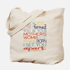 I KNEW YOU BEFORE YOU WERE BORN! Tote Bag