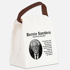 Sanders: Survive Canvas Lunch Bag