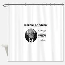 Sanders: Survive Shower Curtain
