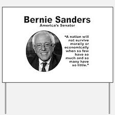 Sanders: Survive Yard Sign