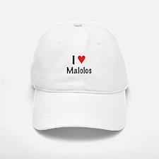 I love Malolos Baseball Baseball Cap