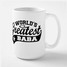 World's Greatest Baba Large Mug