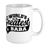 Baba Large Mugs (15 oz)