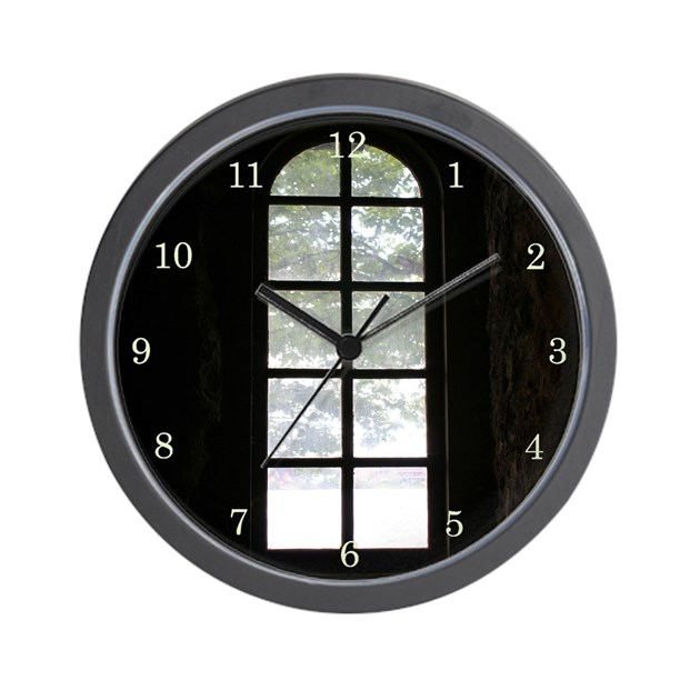 Quotoustide glowquot wall clock by lostinaphoto for Glow in the dark wall clocks australia