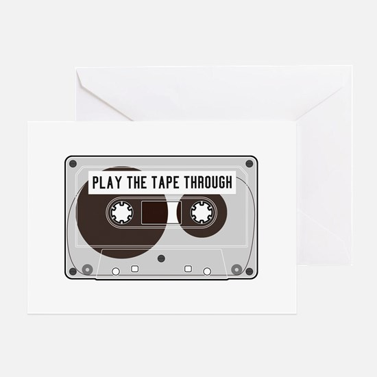 Play The Tape Card Greeting Cards