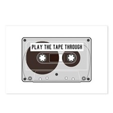Play The Tape Postcards (package Of 8)