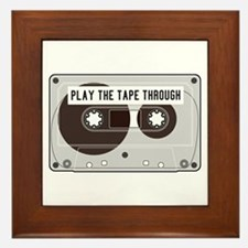 Play the Tape Framed Tile
