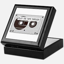 Play the Tape Keepsake Box