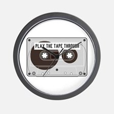 Play the Tape Wall Clock