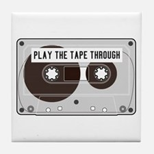 Play the Tape Tile Coaster