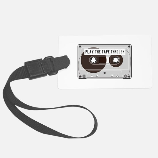 Play the Tape Luggage Tag