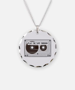 Play the Tape Necklace