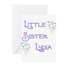 Little Sister Lydia Greeting Cards (Pk of 10)