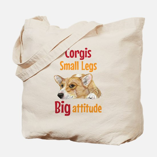 Big Attitude Tote Bag