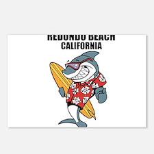 Redondo Beach, California Postcards (Package of 8)