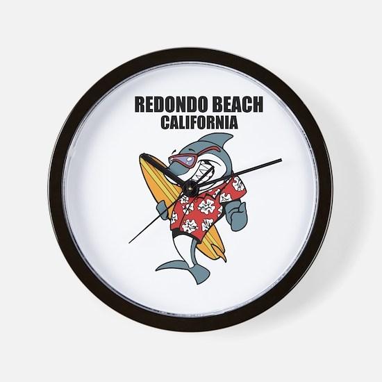 Redondo Beach, California Wall Clock