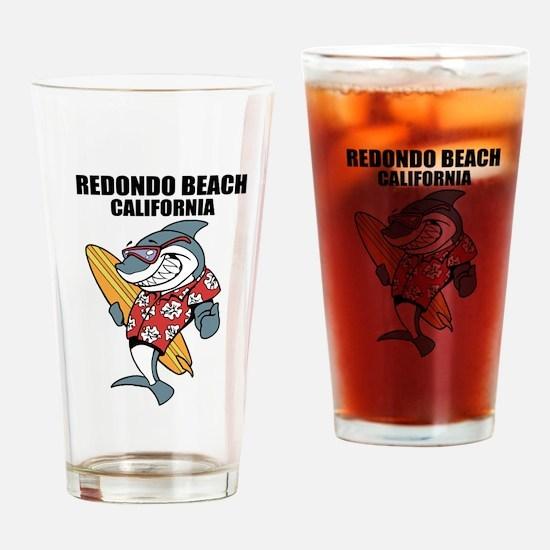 Redondo Beach, California Drinking Glass
