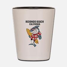 Redondo Beach, California Shot Glass