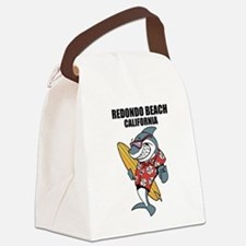Redondo Beach, California Canvas Lunch Bag