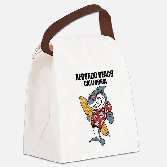 Redondo Beach, California Canvas Lunch Bag