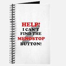 Menostop Button Menopause Journal